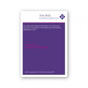 Schedule 5 Annual Activity Report