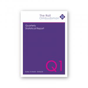 The Rail Ombudsman 2020 Quarter 1 statistical report (PDF)